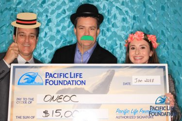 OneOC receives $15K from Pacific Life Foundation